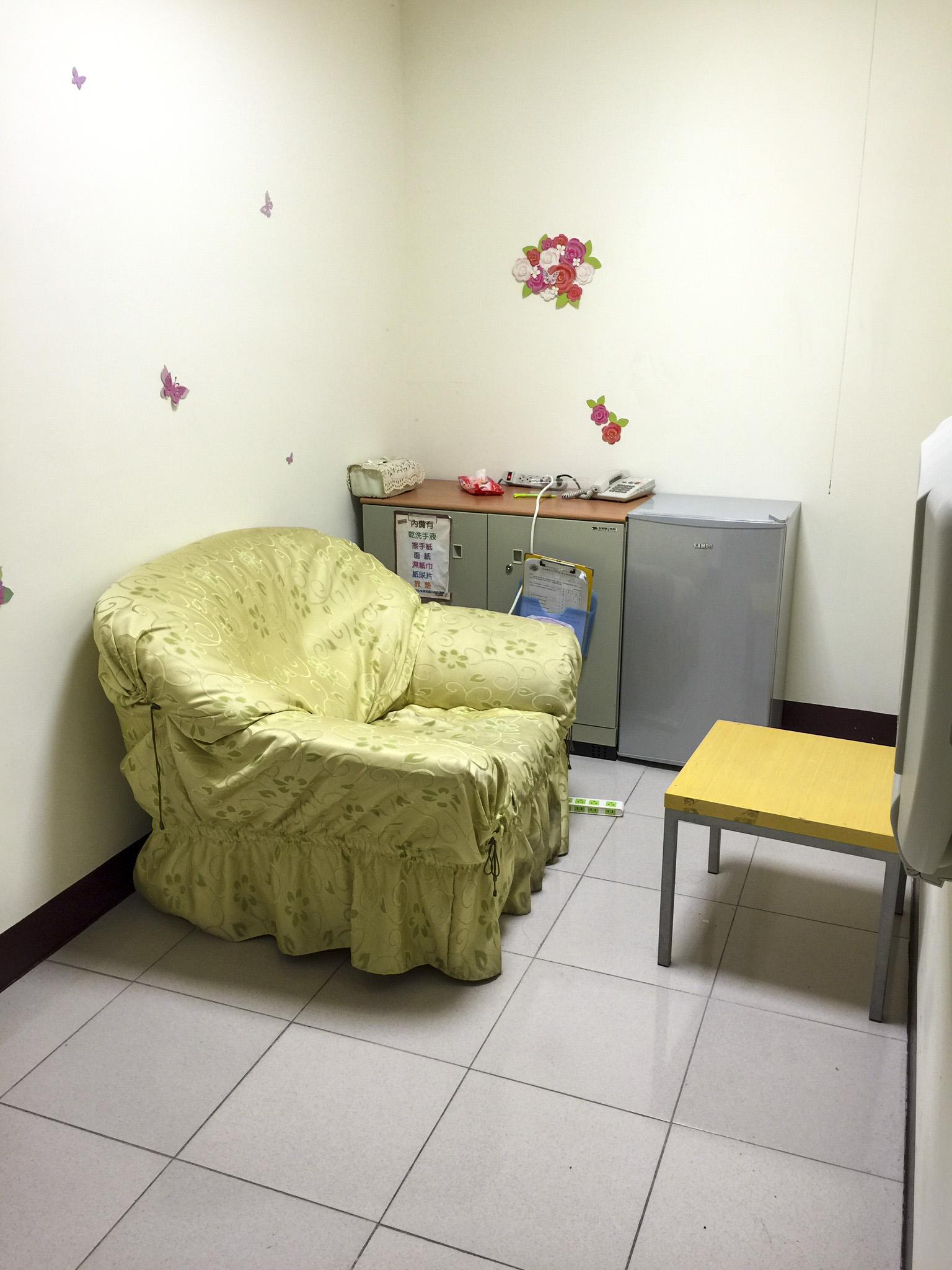 新館宿舍哺乳室-內部空間Ⅰ