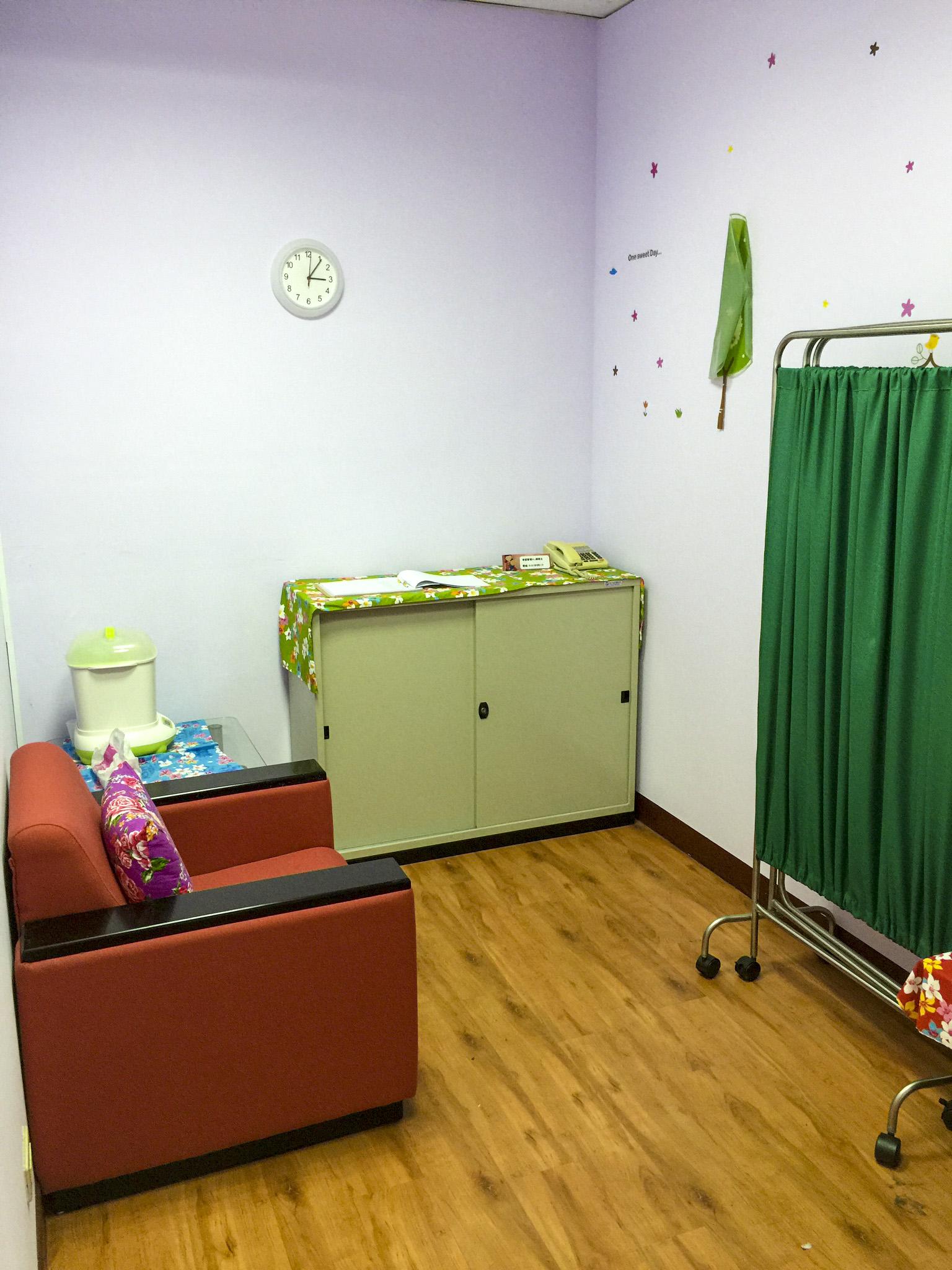 濟世大樓哺乳室-內部空間Ⅰ
